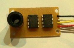 画像2: 赤外線温度センサーアナログ出力モジュール MLX_DA