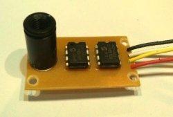 画像1: 赤外線温度センサーアナログ出力モジュール MLX_DA