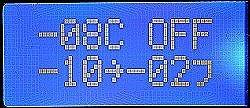 画像2: LCD8文字×2行白色抜き文字表示