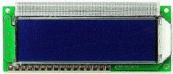 画像1: LCDモジュール 16文字×2行 白抜き