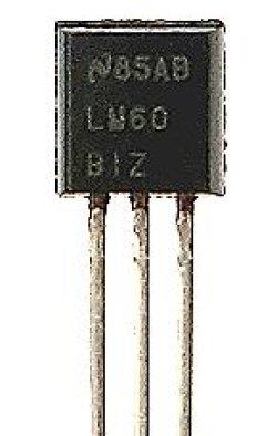画像1: 温度センサー  LM60BIZ