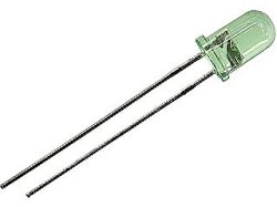 画像1: 5mm黄緑色LED OSNG5113A