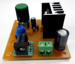 画像2: LM317可変電源完成品