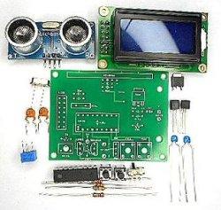 画像1: 超音波距離計LCDタイプ キット