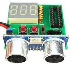 画像2: 超音波距離計 7セグメントタイプ 完成品