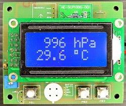 画像1: 気圧・高度計 完成品