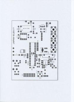 画像5: LCD温度・湿度計 完成品