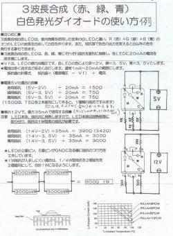 画像4: 大型フルカラーLED(35mA)EP204K-35GRB