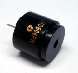 画像1: 丸型電子ブザー HDB06LFPN